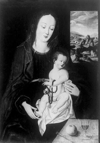 Madonna mit dem Apfel