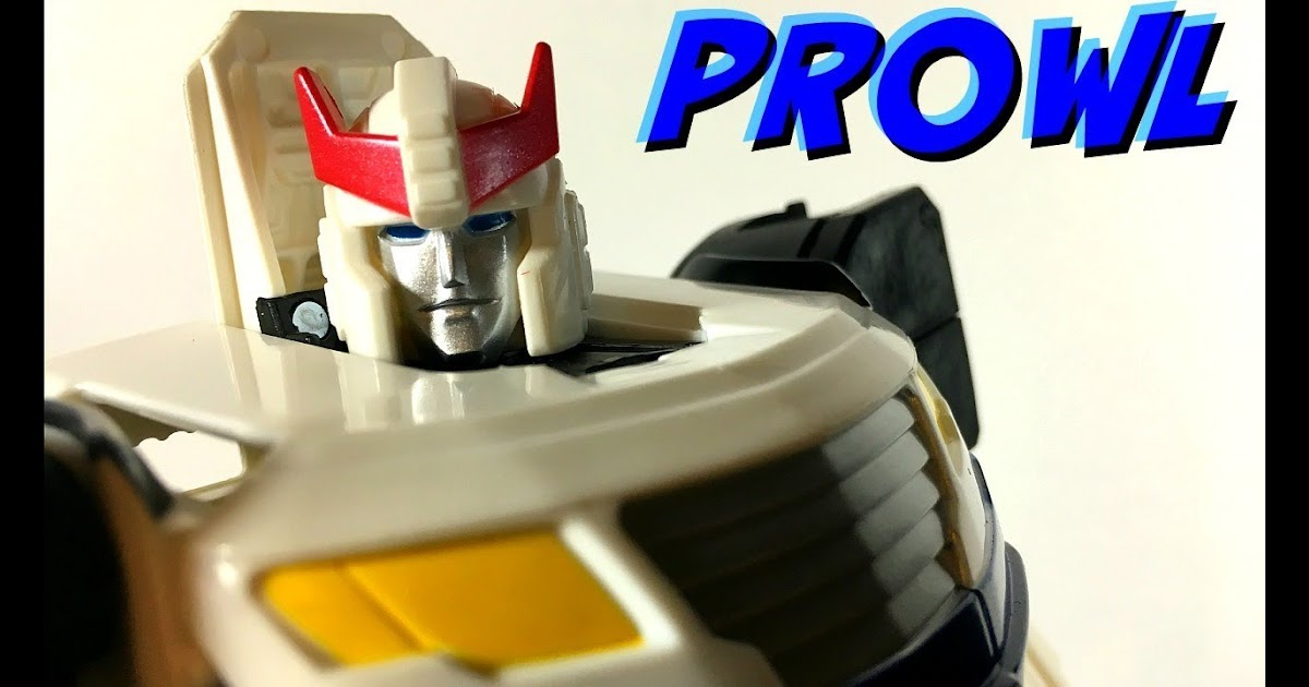 Geeky the Tango Transformers Generations PROWL ( Cyber