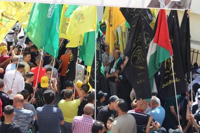 خلال المسيرة في الجليل
