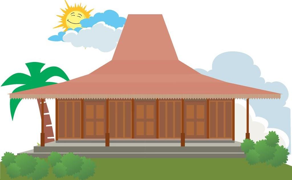 Rumah Adat Betawi Kartun