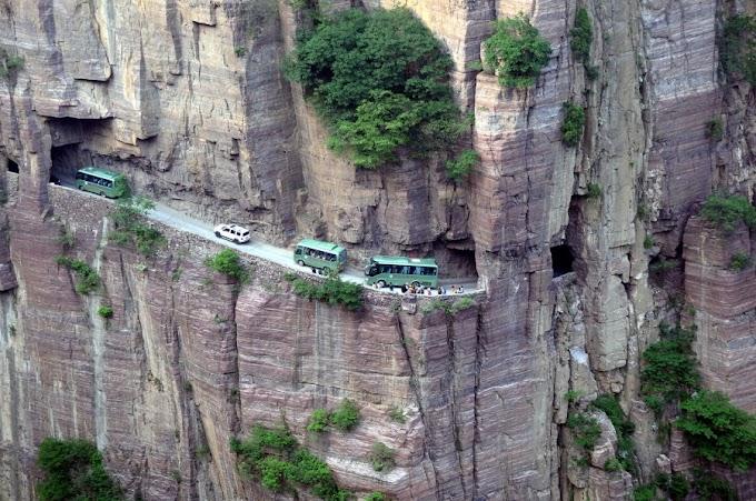 10 من  اخطر الطرق في العالم