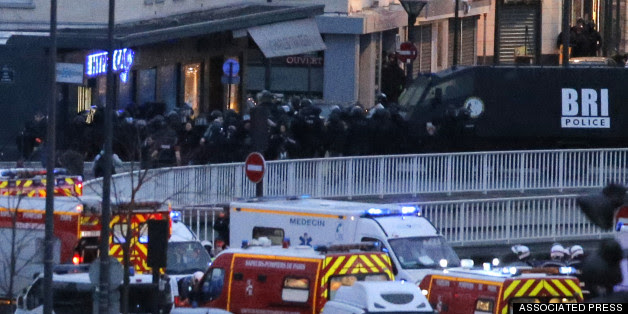 Gunman Kills 4 In Kosher Market Attack In Paris