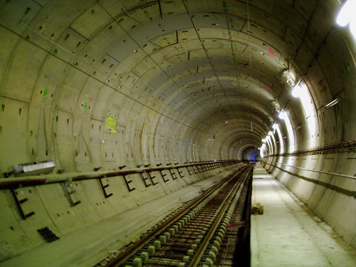 Tunnel LGV Perpignan-Figueres - Tube Est TRAMONTANE