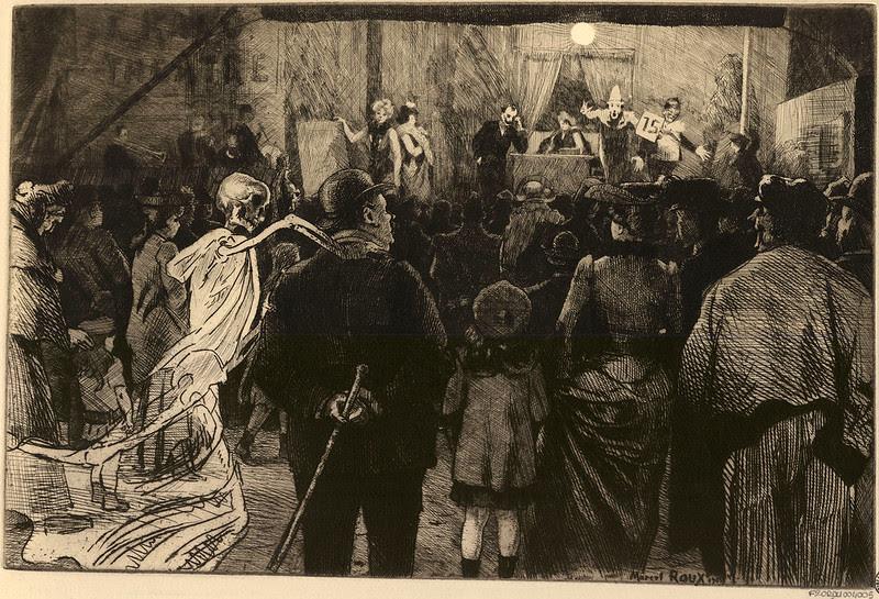 Marcel Roux - La Fête (Ceux qu'elle surprend) 1905