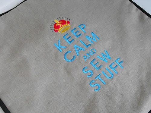 Keep Calm and Sew Stuff