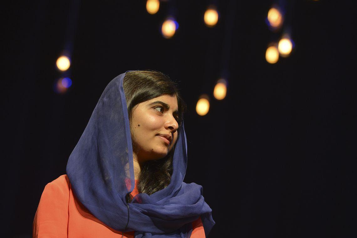 A ativista paquistanesa Malala Yousafzai, em visita  à capital paulista, participou de evento promovido pelo Itaú Unibanco, no Auditório Ibirapuera.