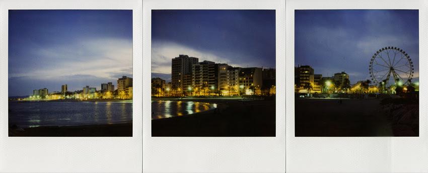 Vinaròs City, la noche.