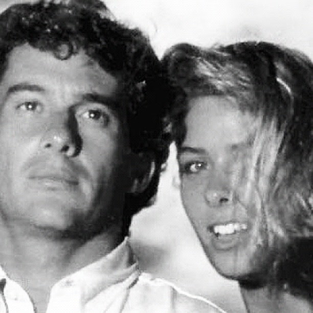 Adriane Galisteu e Ayrton Senna (Foto: Twitter/Reprodução)