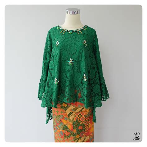 model kebaya brokat modern ideas  pinterest