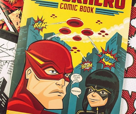 Make Your Own Superhero Comic Book