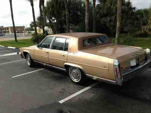 Find used 1987 Cadillac: Fleetwood Brougham in Cocoa Beach ...