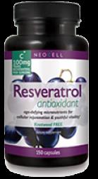 Neocell Laboratories - Resveratrol Antioxidant - 150 Caplets