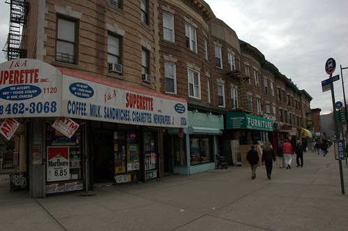 Cortelyou Road, south side, looking west from Westminster Road