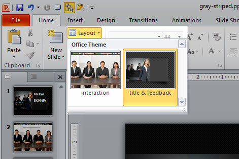 Articulate Rapid E-Learning Blog - multiple layouts in PowerPoint