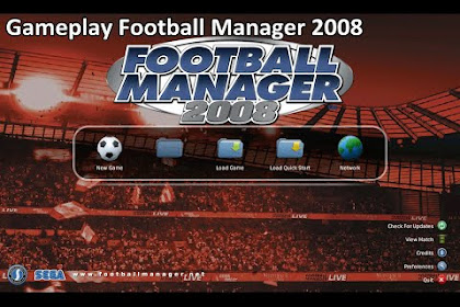 Free Download Game PC Laptops Football Manager 2008 (FM 2008) Full Version