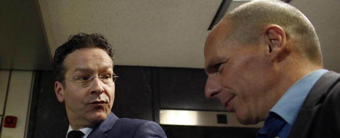 """Grecia, Varoufakis: """"Non parlo con troika"""". Dijsselbloem: """"No azioni unilaterali"""""""