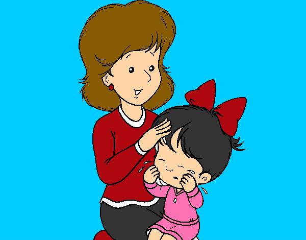 Dibujo De Madre Pintado Por Karimesele En Dibujos Net El Dia 03 01
