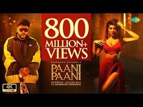 Paani Paani Lyrics - Badshah, Aastha Gill   Jacqueline Fernandez