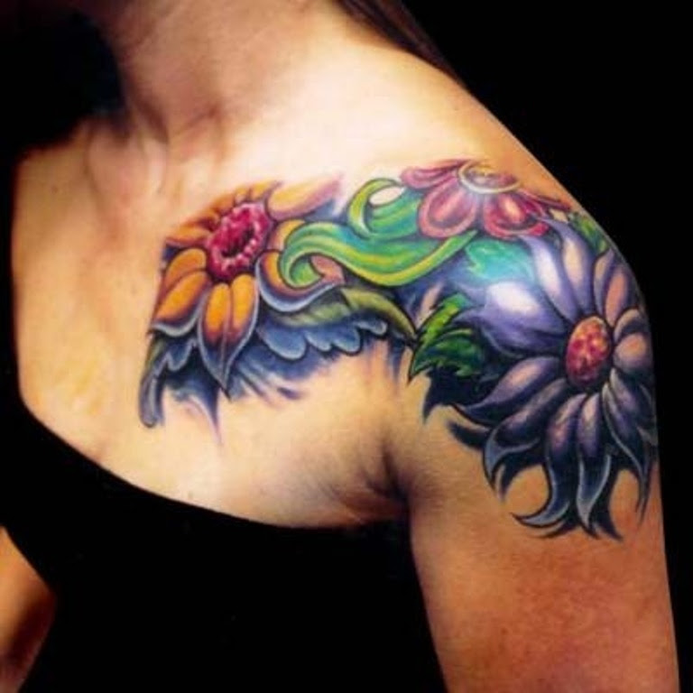 83 Wonderful Shoulder Tattoos For Women