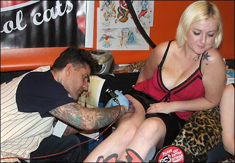 Tattoo Fest! State of the Art. The body art festival featured over 120 of