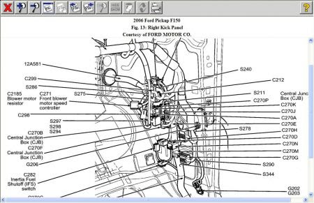 2006 Ford F150 Heater Fan: Fan Speed 1 Is Not Working and ...
