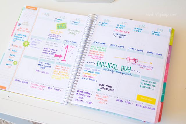 1000+ images about Erin Condren Planner on Pinterest   Planner ...