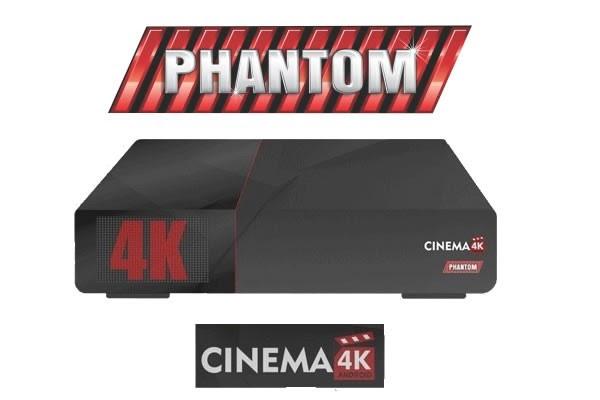 PHANTOM CINEMA 4K NOVA ATUALIZAÇÃO V 2.0.2.348 - 31/05/2017