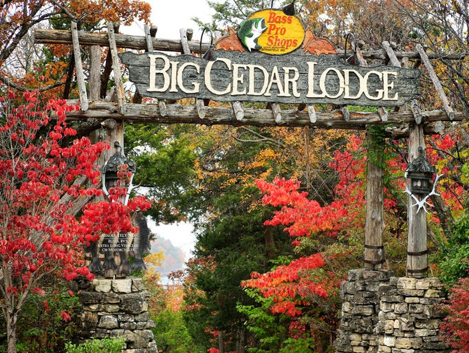 Big Cedar Lodge was created by Bass Pro Shops founder and owner Johnny Morris.