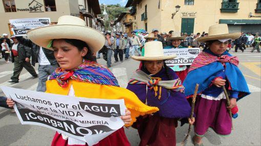 Cajamarca, Yanacocha, Protestas antimineras, Proyecto Conga