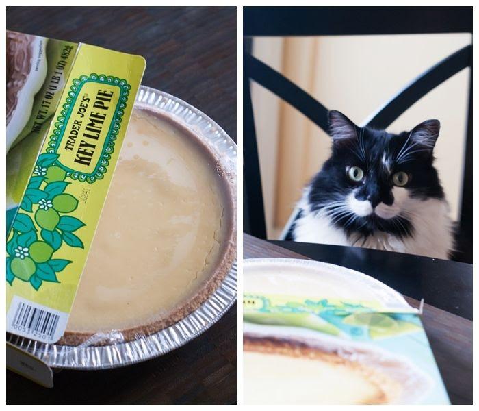 trader joe's weekly dessert review. this week: key lime pie