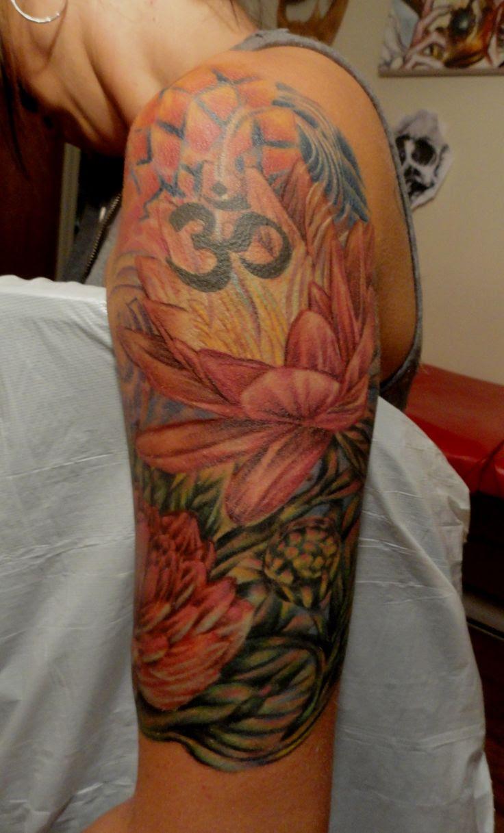 Lotus Flower Half Sleeve Tattoos Tattoos Designs Ideas