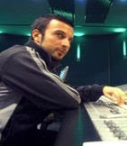 Tarkan in the studio working on his 2007 album