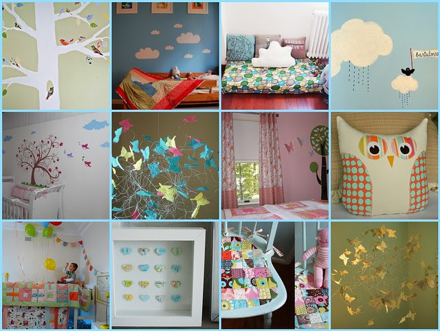 feeding inspiration - kids' rooms