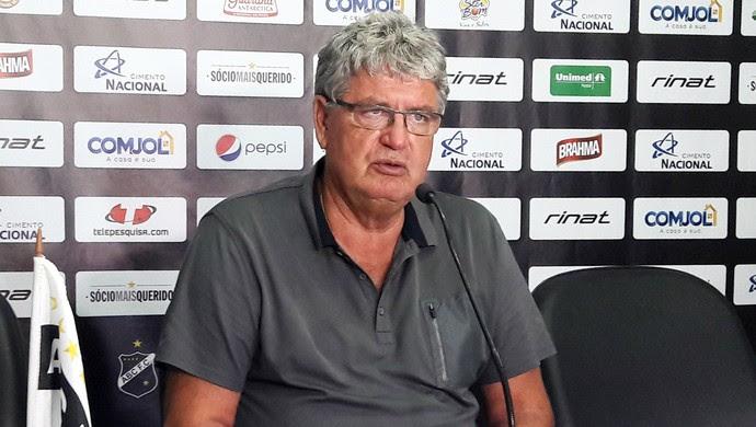 ABC - Geninho, técnico (Foto: Assessoria de Comunicação/ABC FC)