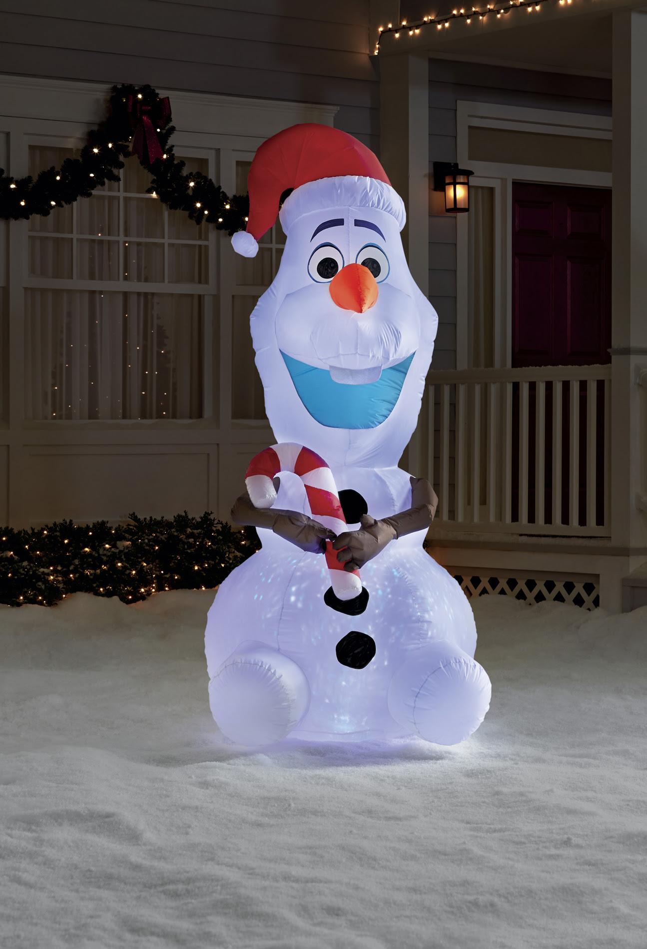 Olaf Christmas Decoration Outside - Halloween Costume Ideas