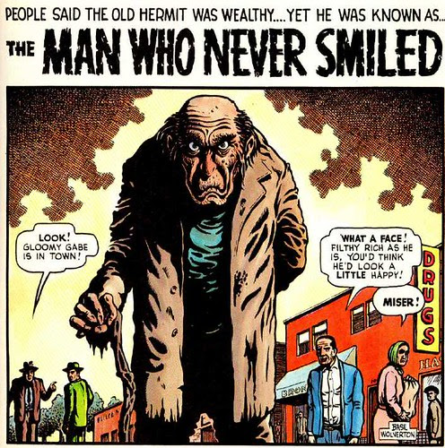 the man who never smiled