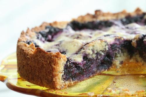Blueberry tart / Mustikapirukas