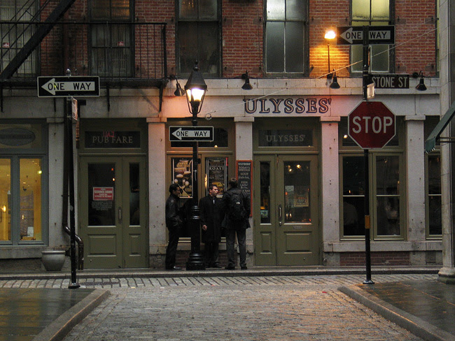 Ulysses' Bar, NYC