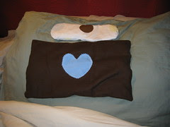 Rice Heat Therapy Bag & Cooling Eye Pillow