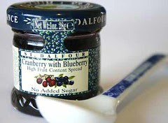 St Dalfour Cranberry with Blueberry Jam