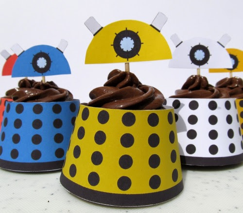 Dalek Cupcake Wrapper by ~F-A I NEED THESE TO LIVE