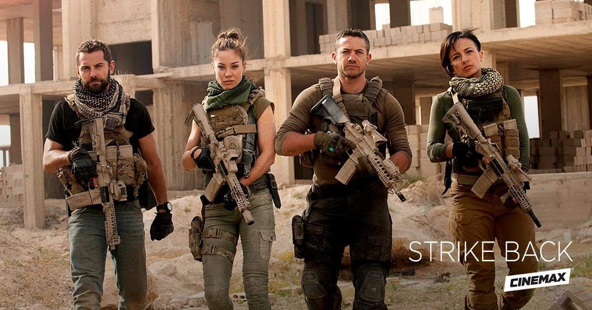 """Cinemax/Sky Series STRIKE BACK Season Five Teaser: """"We're Back, Motherf*ckers!"""""""