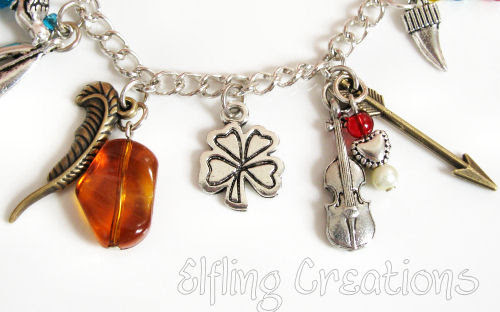 Writing Charm Bracelet 2