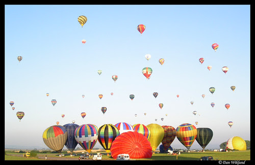 Invasion of the hot-air balloons