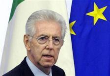 <p>Il presidente del Consiglio Mario Monti . REUTERS/Remo Casilli (ITALY - Tags: POLITICS BUSINESS)</p>