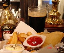 MaltanStout & Fish&Chips
