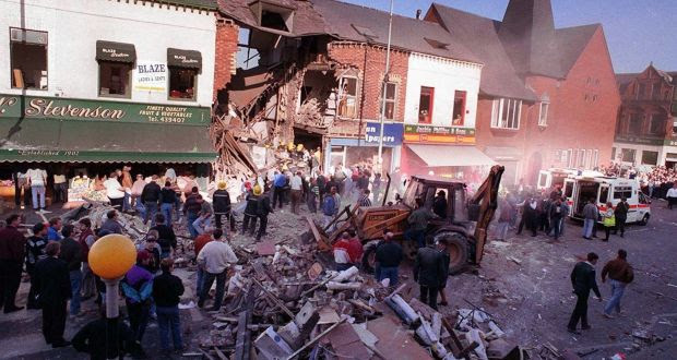 State agents appear to have played a part in the bombing of Frizzell's fish shop on the Shankill Road in 1993 in which nine people died. Photograph: Pacemaker.