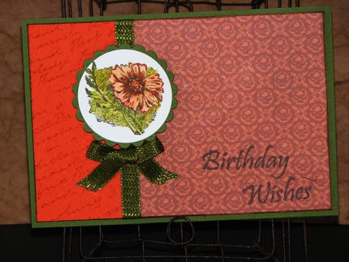 Autumn Birthday Wishes - JFF CC #25 - Ink Stained Roni
