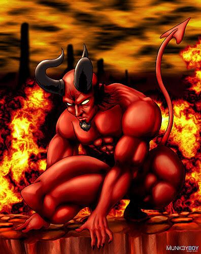 satan by steelcaress