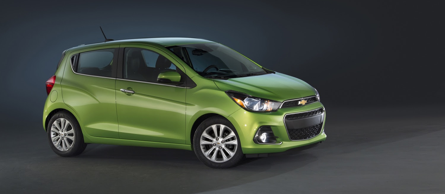 2016 Chevrolet Spark Loses Spunky Looks, Gains On Sophistication